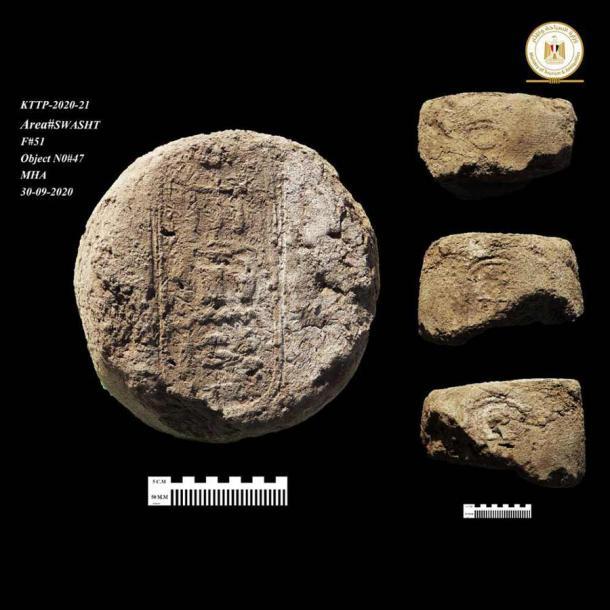 Los sellos encontrados en la Ciudad Dorada Perdida confirman que estuvo activo durante el reinado de Amenhotep III. (Ministerio de Turismo y Antigüedades)