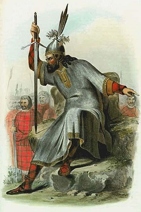 Según la antigua ley irlandesa, todo el sept era responsable de los delitos cometidos por sus miembros. (Hic et nunc / Dominio público)