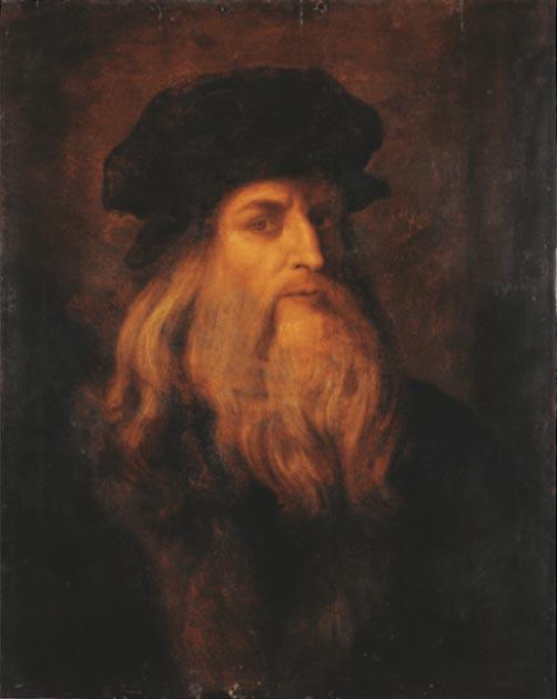 Posible autorretrato de Leonardo da Vinci. (Dominio público)