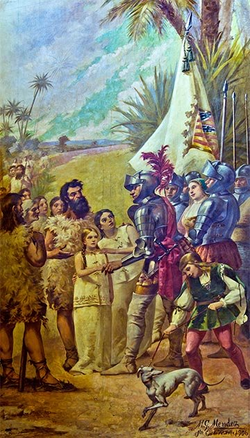 La conquista del imperio español de las Islas Canarias. (Koppchen / CC BY-SA 3.0)