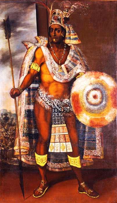 Los españoles tomaron como rehén a Moctezuma II y, el 1 de julio de 1520, estaba muerto. (Dominio publico)