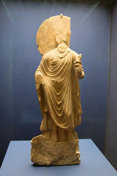 Estatua del Buda, Mes Aynak, siglo III-VI. (CC BY-SA 4.0)
