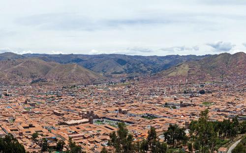 Una imagen panorámica de Cuzco, Perú. (CC BY-SA 4.0)