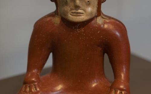 Figuras de chamán y sus transformaciones (Museo de Quito, Ecuador)