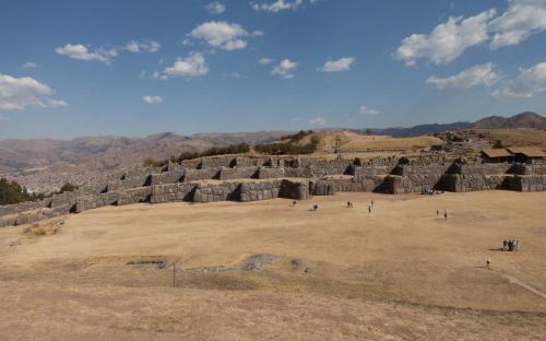 Las murallas de Saqsaywaman, Cusco, Perú.