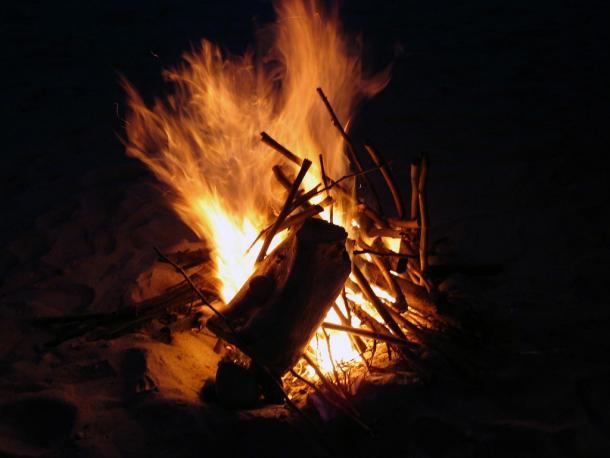 Nuestra hoguera (Flickr)