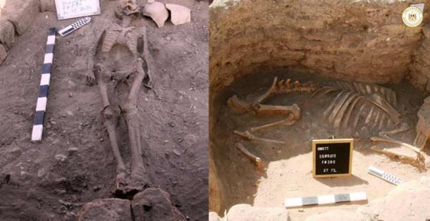 Los arqueólogos están desconcertados por extraños entierros en la Ciudad Dorada Perdida. (Centro Zahi Hawass de Egiptología / Ministerio de Turismo y Antigüedades)