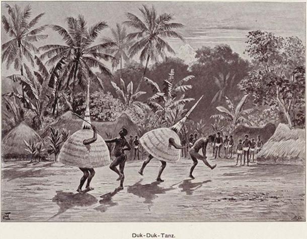 Bailarines de Duk Duk 1899. (Lysippos / Dominio público)
