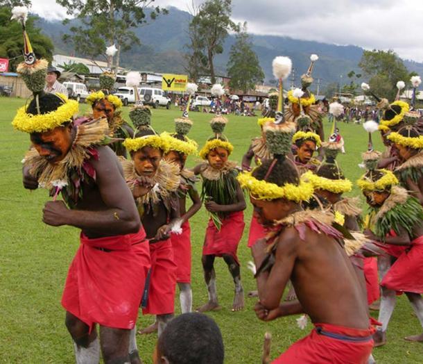 Bailarines de Tolai: los Tolai tienen una sociedad secreta llamada Duk Duk. (Kahunapule Michael Johnson / CC BY-SA 2.0)