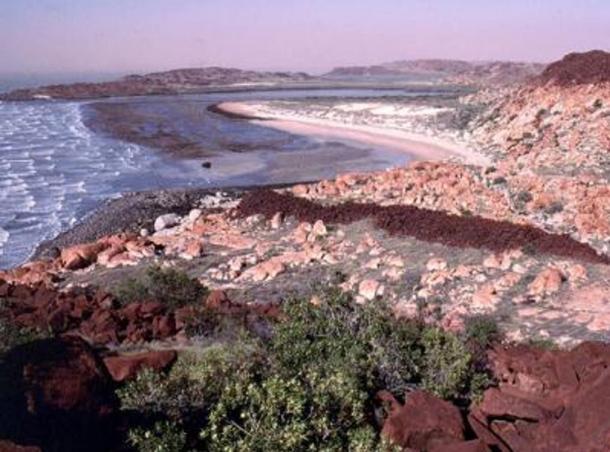Paisaje costal del Archipiélago de Dampier, 2000