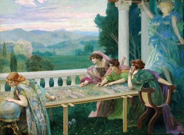 'Destino' por Henry Siddons Mowbray
