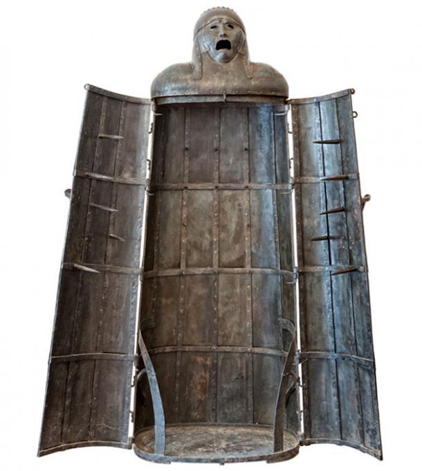 Doncella de hierro, dispositivo de tortura medieval. (StarJumper / Adobe)