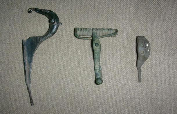 Fibula primitiva. Siglos VII - V a.C. Shawn Michael Caza