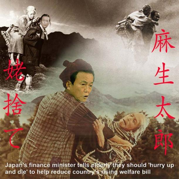 """El ministro de finanzas de Japón les dice a los ancianos que deben """"apurarse y morir"""" para ayudar a reducir la creciente ley de asistencia social del país. (Tjebbe van Tijen / CC BY-SA 2.0)"""