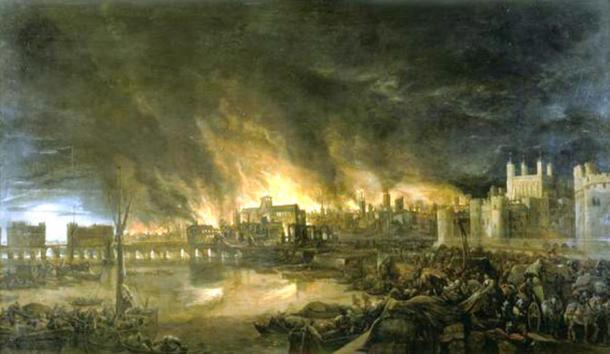La tumultuosa historia de la región incluye el Gran Incendio de Londres, 1666.
