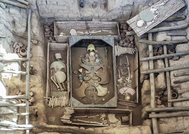 La tumba del Señor de Sipán. (Dominio publico)