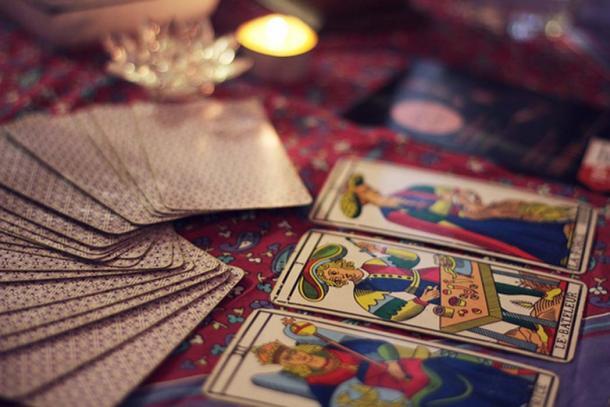 Lectura de cartas del tarot: pixabay.com