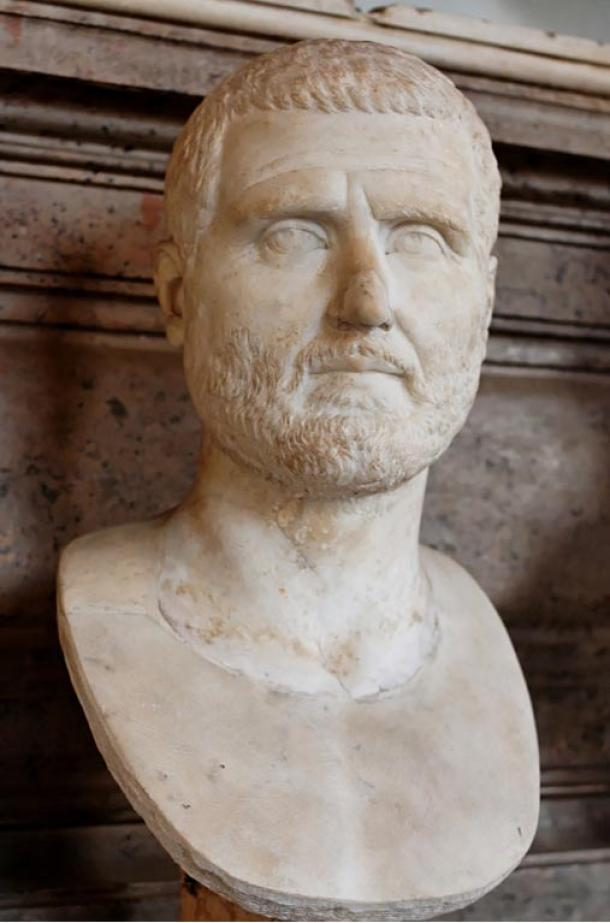 Escultura de mármol de Gordiano I