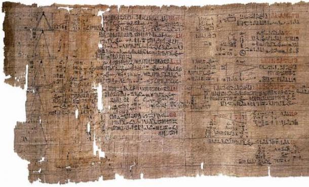 El papiro matemático Rhind, el papiro más extenso