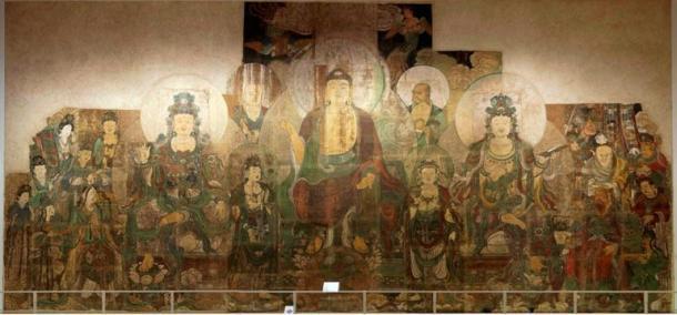 El paraíso de Maitreya, Zhu Haogu y Zhang Boyuan, 1320