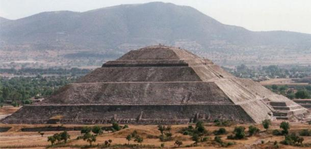 Pirámide del Sol en Teotihuacán