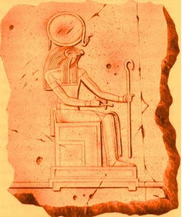 Ra es el dios sol de Heliópolis en el antiguo Egipto.