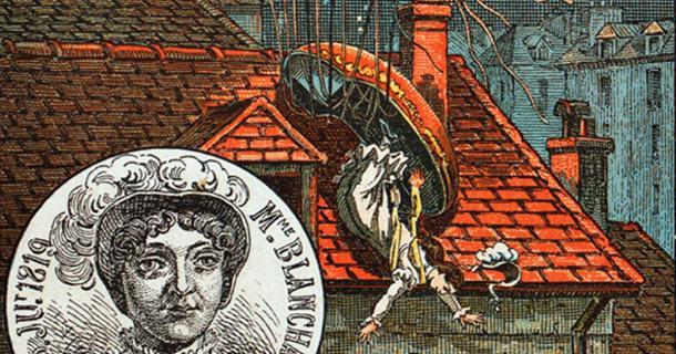Sophie hace su ascenso en Milán el 15 de agosto de 1811 para conmemorar el 42 cumpleaños de Napoleón. (Durova / Dominio Público)