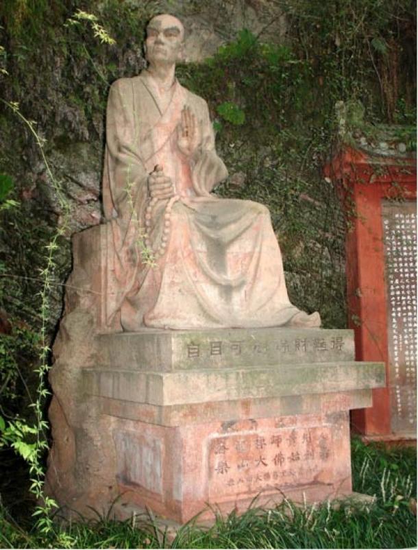 Estatua de Hai Tong, Leshan