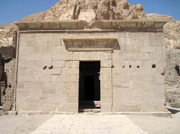 Templo de Hathor, Deir el-Medina