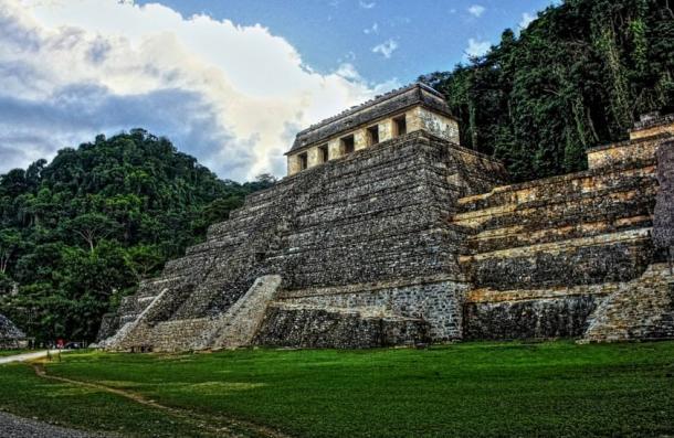 El Templo de las Inscripciones, Palenque, México