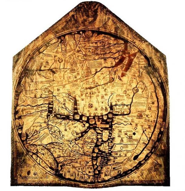 El Mapamundi de Hereford