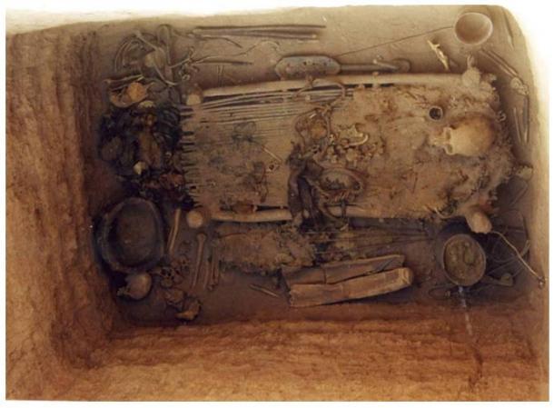Un chamán de hace 2800 años de las Tumbas Yanghai