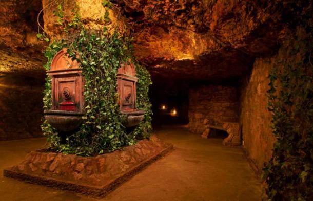 Las Fuentes de Vino que Mátyás encontró en lo profundo del laberinto de Buda.