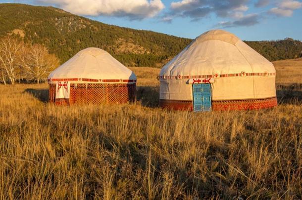 """Yurta kazaja conocida como """"gers"""". (sokolkz84 / Adobe)"""
