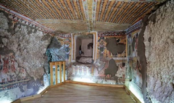 Las tumbas en el templo Khonsu en Karnak han sido restauradas y estarán abiertas a los visitantes. (Ahram en línea)