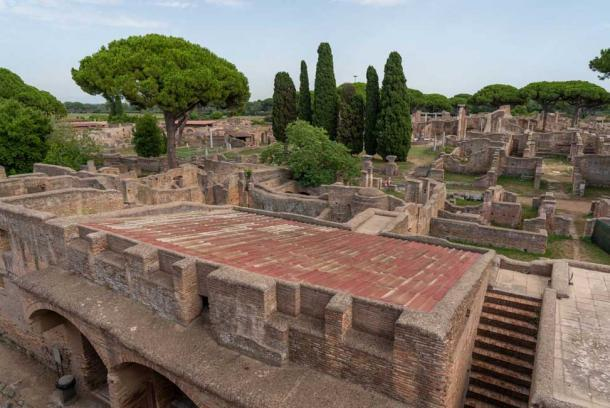 Una fortaleza militar fue la primera estructura construida en Ostia Antica. (Ioannis Syrigos)