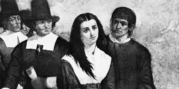 Una de las jóvenes acusadas de ser una bruja en los juicios de brujas de Salem que pudo haber sido afectada por el ergotismo. (Thomas Satterwhite Noble / CC BY-SA 4.0)