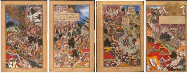 Después del asedio de Chittorgarh en 1567, los mogoles tomaron el fuerte. (Dominio público)