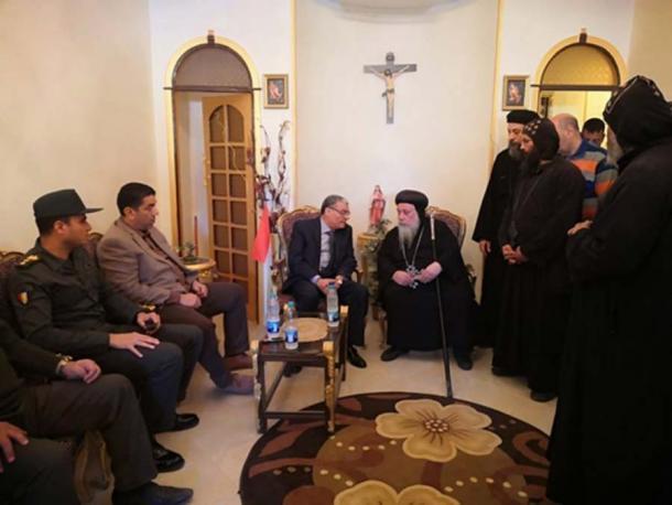 Varias agencias han expresado sus condolencias a las familias y seres queridos de las víctimas que perdieron la vida en el colapso parcial del monasterio. (Youssef Sidhom)