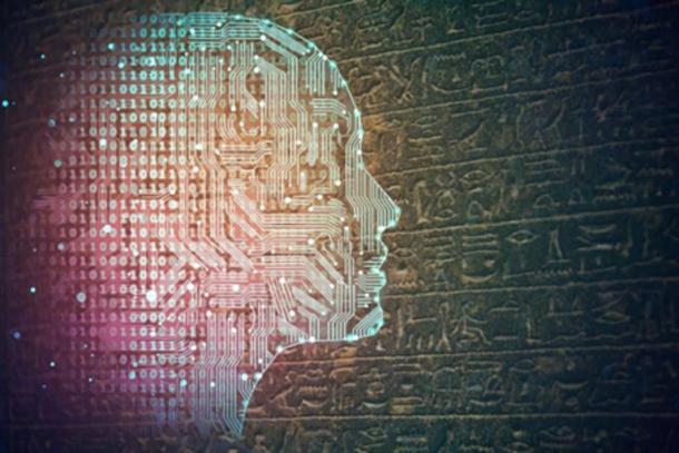 AI (peshkova / Adobe Stock) puede ser la clave para descifrar idiomas antiguos. (alagunasr / Adobe Stock)