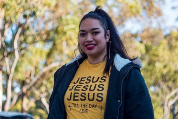 Ana Makahununiu, una predicadora pentecostal que vivió en el Kimberley durante tres años. (Crédito: ABC News / Scott Mitchell)