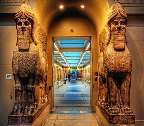 Antiguas estatuas asirias encontradas en el Museo Británico. (Neil Howard / CC BY-NC 2.0)
