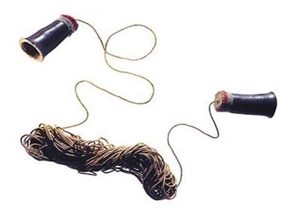 El enigmático dispositivo de comunicación antiguo. Crédito: Museo Nacional Smithsonian de los Indios Americanos