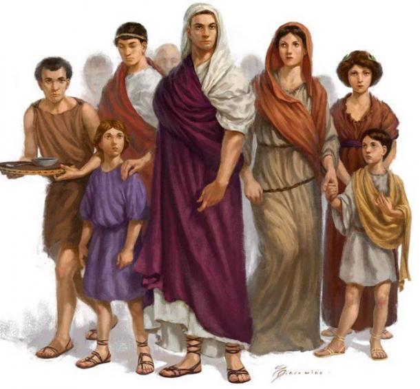 Una antigua familia romana. (HISTORIA DE QVAD)