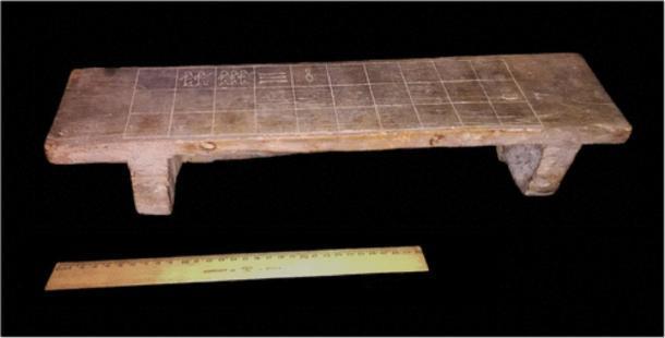 """El antiguo senet egipcio (""""juego de la muerte"""") en el Museo Rosacruz. (El diario de la arqueología egipcia)"""