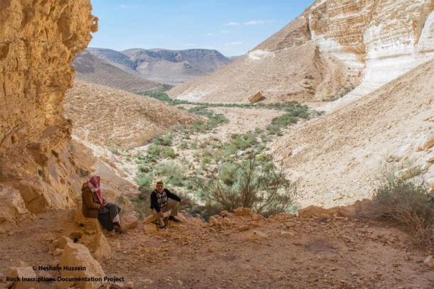 La antigua cueva fue encontrada en una zona montañosa en el norte del Sinaí. Foto cortesía del Ministerio de Antigüedades.