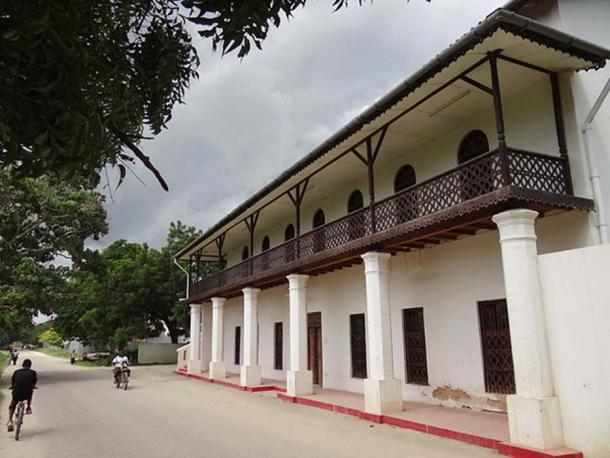Antigua casa de té árabe, Bagamoyo (Jones, A / CC BY 3.0)