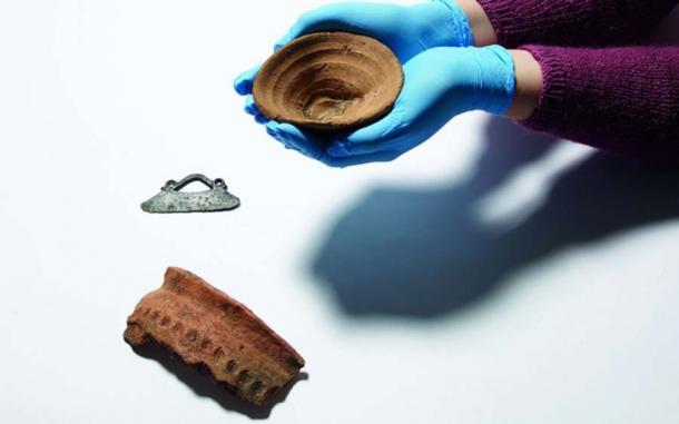 La antigua copa minoica que se exhibirá en el Museo Británico. (Fideicomisarios del Museo Británico)