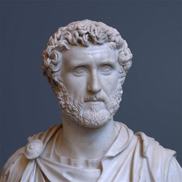 Busto de Antonino Pío, adoptó a Lucio Vero y Marco Aurelio. (Waterborough / Dominio público)