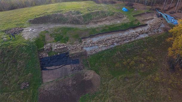 Sitio arqueológico de Maszkowice (CC by SA 4.0 / Maszko78)